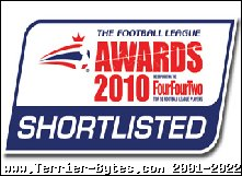 Town shortlisted for 5 Football League awards!
